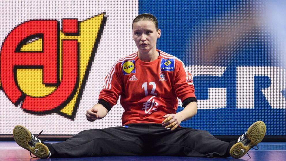 Frankrikes målvakt Amandine Leynaud.
