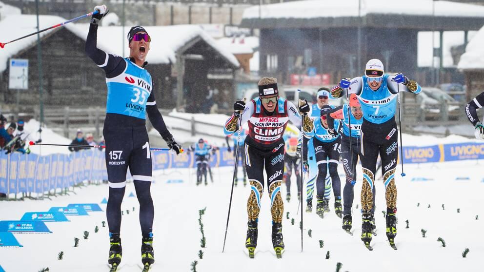 Emil Persson tog hem en tävling i Italien.