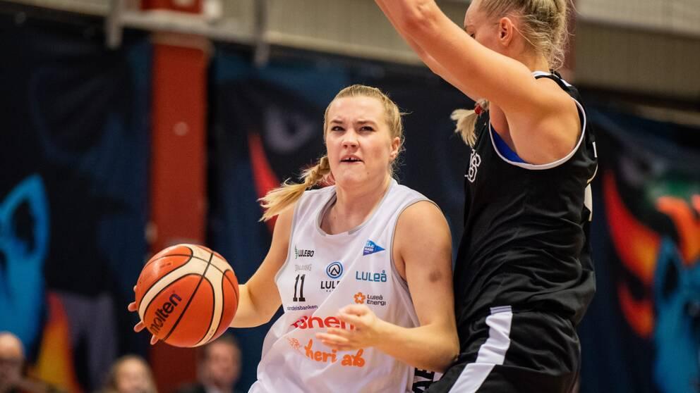Luleå Basket vann toppmötet hemma mot Högsbo.
