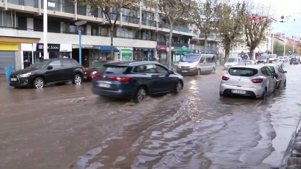 Oversvamningar I Frankrike Fem Doda Svt Nyheter