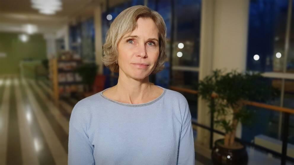 Bild på Anneli Widenfalk, toxikolog på Livsmedelsverket.