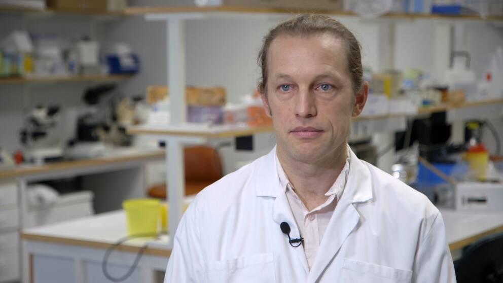 Bild på Axel Mie, forskarassistent på Karolinska institutet.