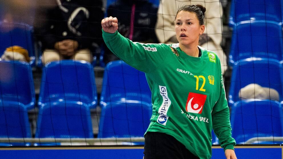 Filippa Idéhn är Sveriges förstamålvakt under VM i Japan.