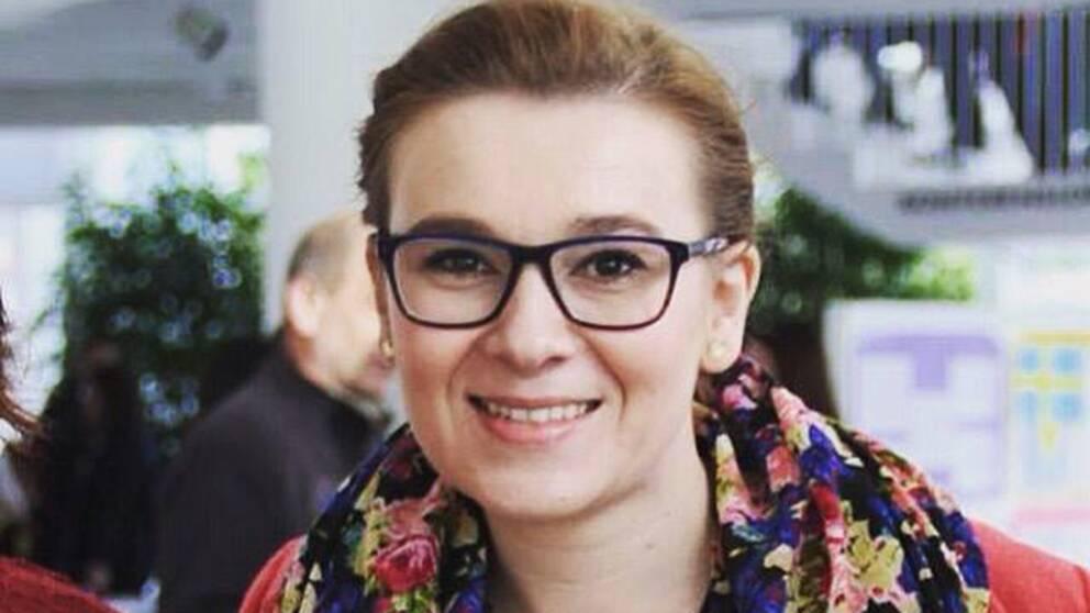 Enisa Deumic, ordförande i Geblod Kommunikation, blodcentralernas nätverk för PR och kommunikation.