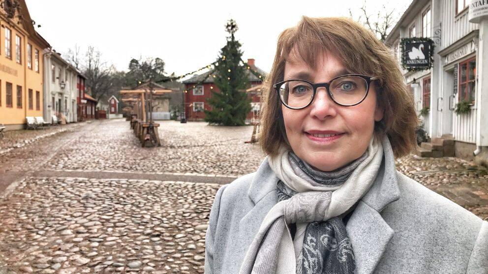 Tina Karlsson From, museichef för friluftsmuseet Gamla Linköping.