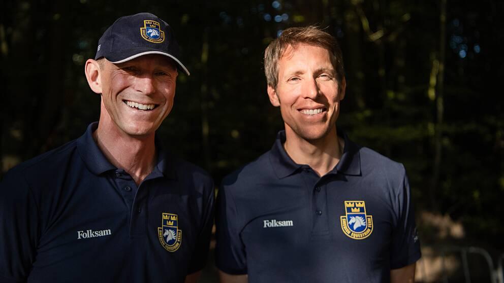 Både Peder Fredricson och Henrik von Eckermann finns numera på topp 10 på världsrankingen.