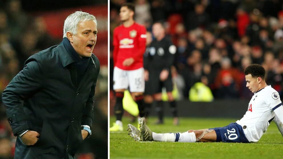José Mourinho föll i återkomsten i Manchester.