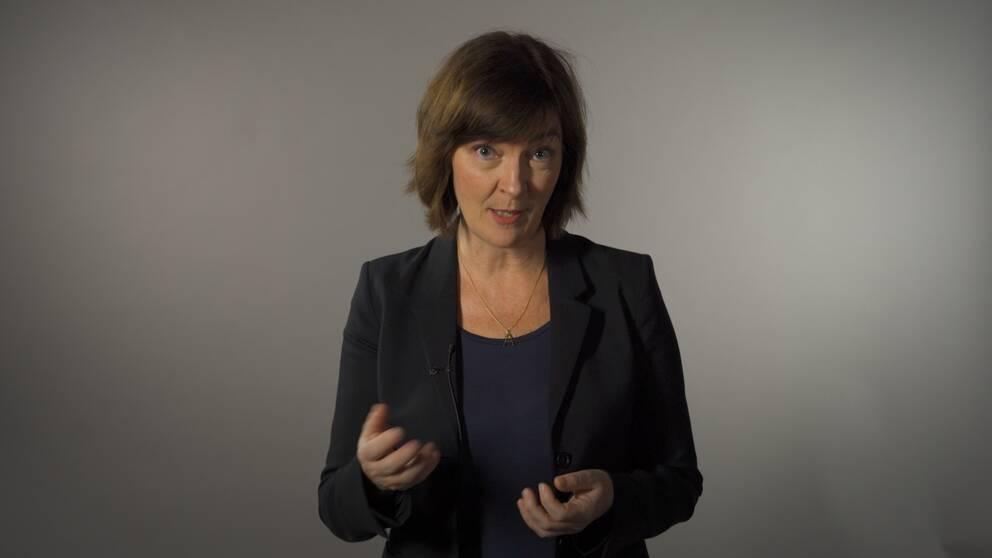 SVT:s utrikesreporter Anna-Maja Persson förklarar hur det brittiska valsystemet sätter krokben för opinionsmätningarna.