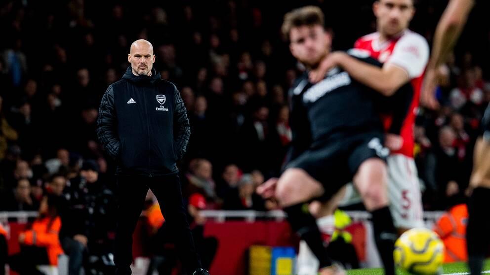 Fredrik Ljungberg och Arsenal förlorade i går.