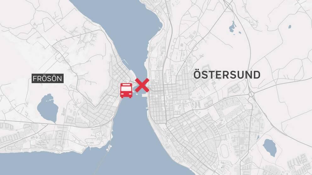 grafisk karta över platsen