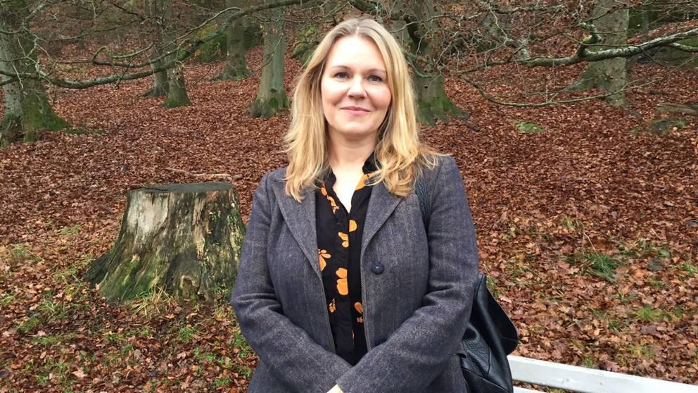 Katarina Laundy, doktorand på Sahlgrenska akademin och psykolog