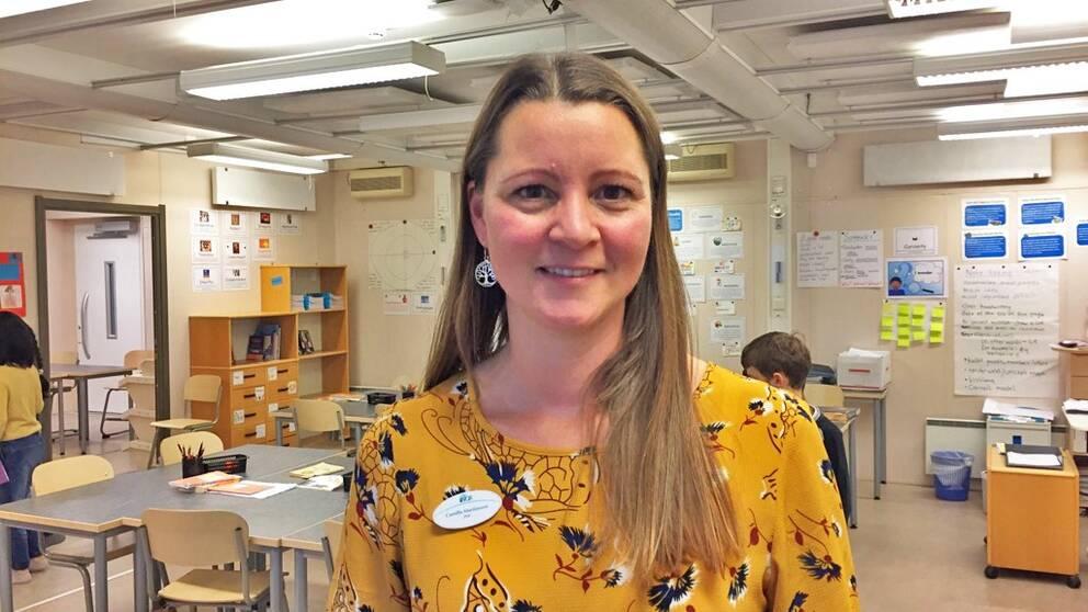 Camilla Martinsson, lärare och mindfulnessinstruktör
