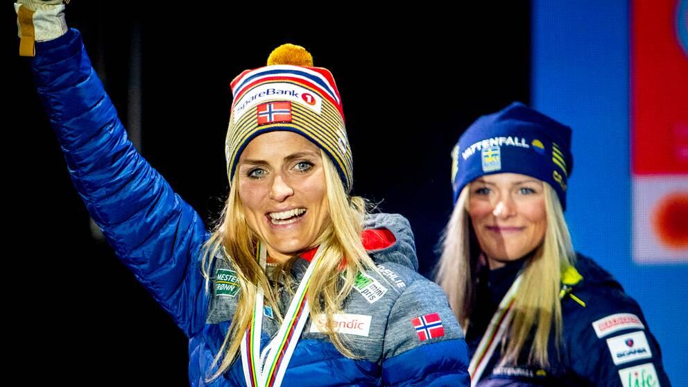 Therese Johaug hoppas att Frida Karlsson snart är tillbaka.