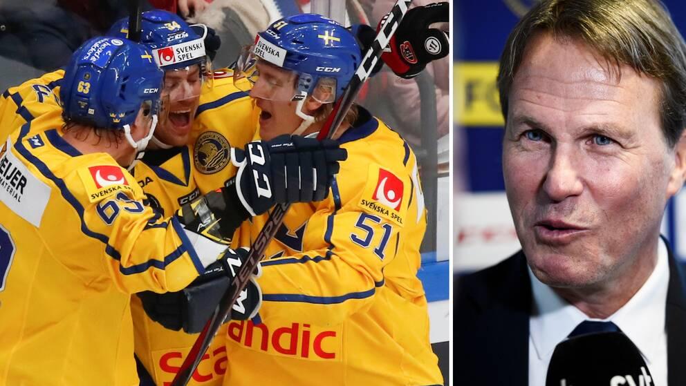 Johan Garpenlöv fick i Ryssland för första gången vinna en match som svensk förbundskapten.