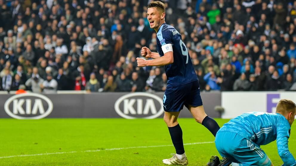 Malmö FF är vidare i Europa League i Markus Rosenbergs sista match.