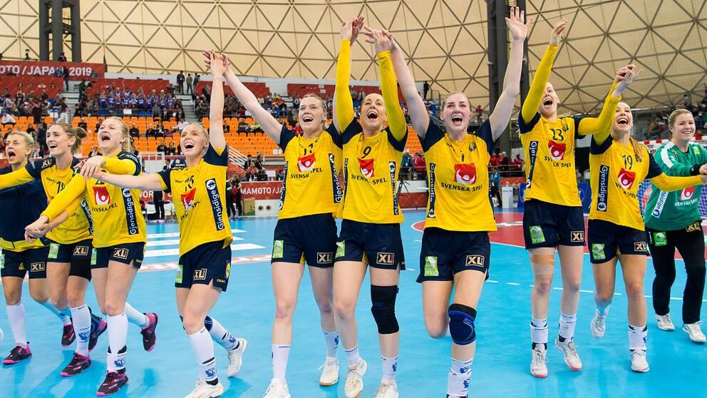 Sverige imponerade mot Tyskland och blev sjua i VM.