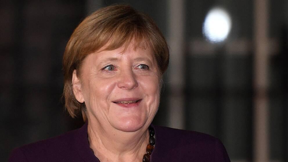 Angela Merkel, förbundskansler i Tyskland.