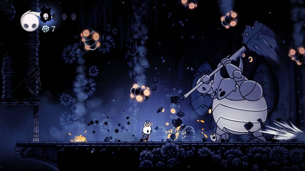 Bedårande mörker i hyllade indieäventyret Hollow Knight.