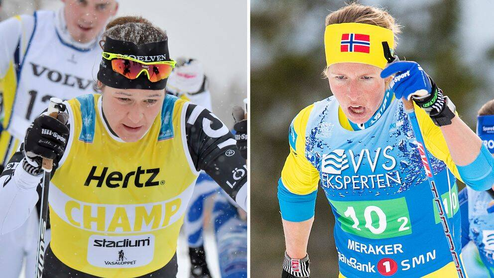 Astrid Öyre Slind vann överlägset före Britta Johansson Norgren.
