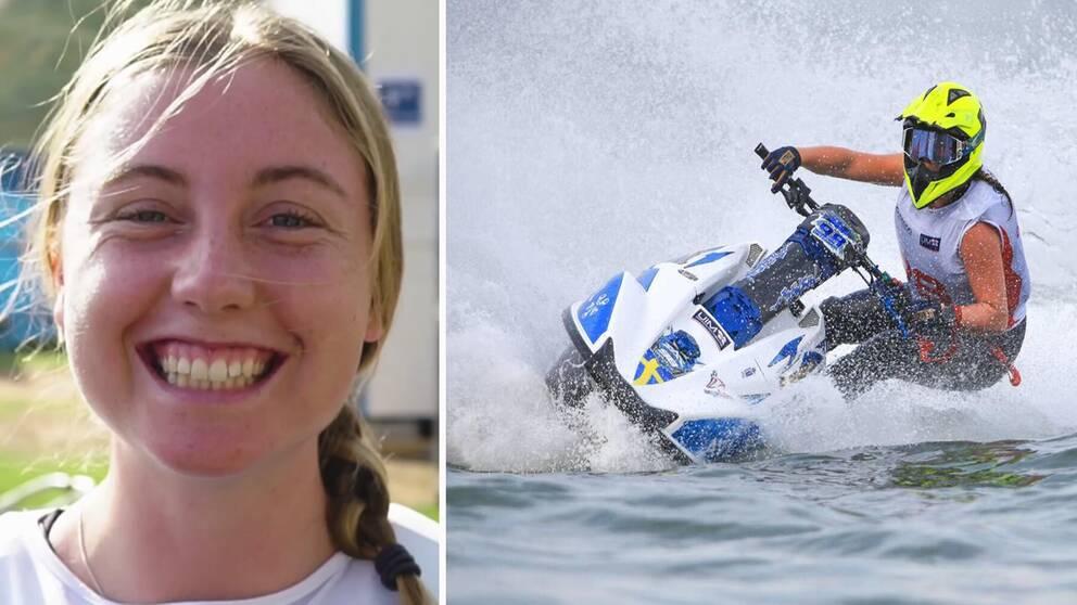 Emma-Nellie Örtendahl vann nytt VM-guld i aquabike.
