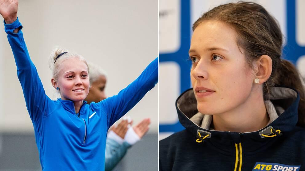 Tilde Johansson och Elvira Öberg.