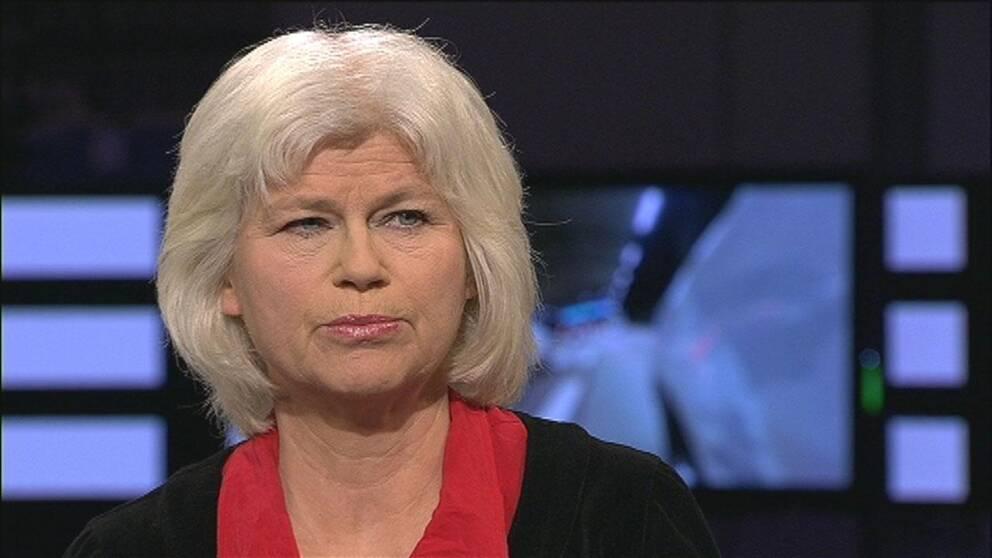 Karin Svensson-Smith (MP), ordförande i trafikutskottet.