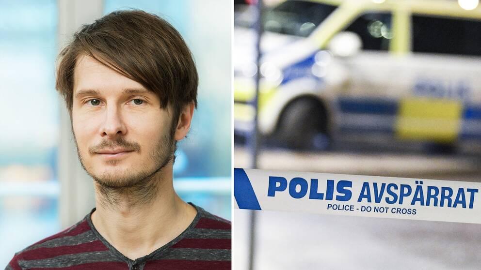 Manne Gerell, krimonolog vid Malmö universitet.