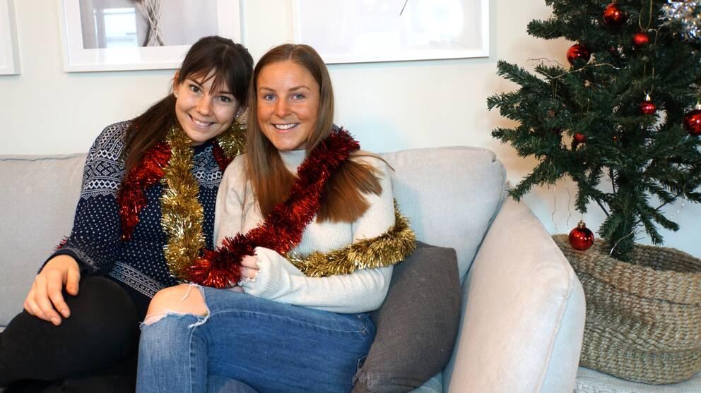 Kompisarna Hanna Hartvig och Marielle Jarlinius driver tillsammans en podcast om psykisk ohälsa, välmående och livet.