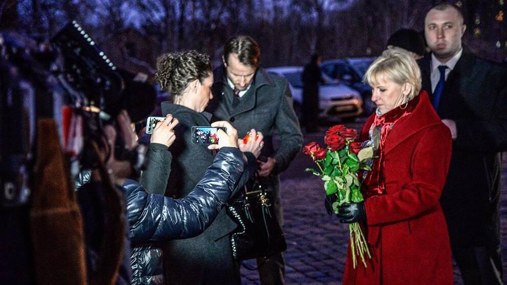 Svensk litauiskt besok i ukraina
