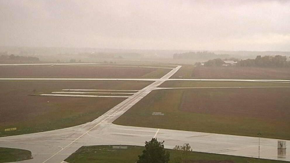 Ärna flygplats, där Luftstridsskolan ligger.