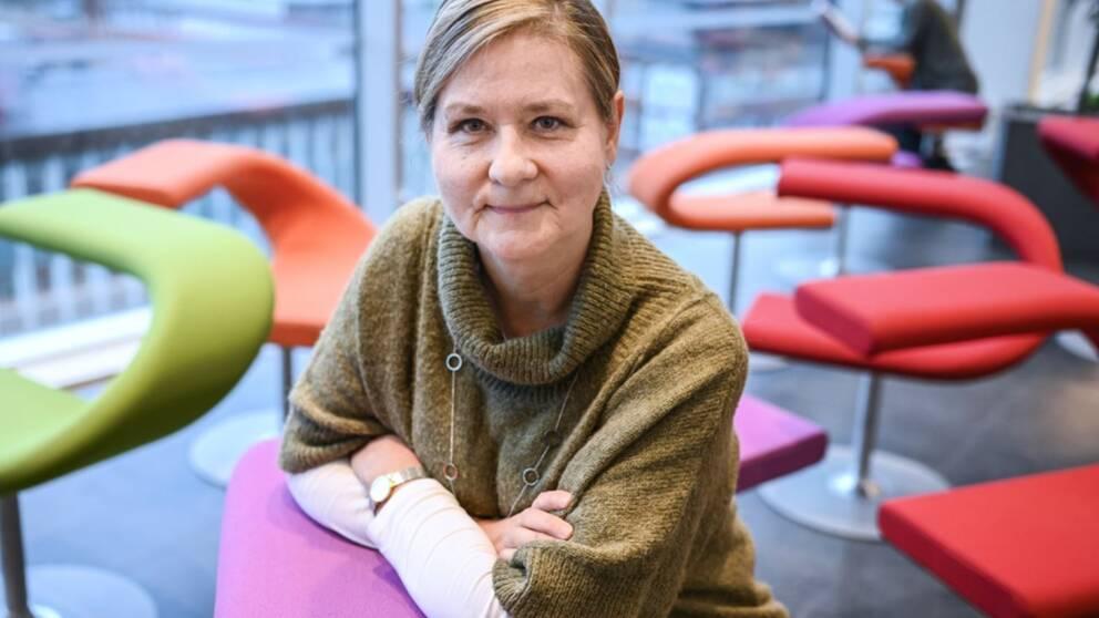 Forskaren Annelie Björkhagen Turesson