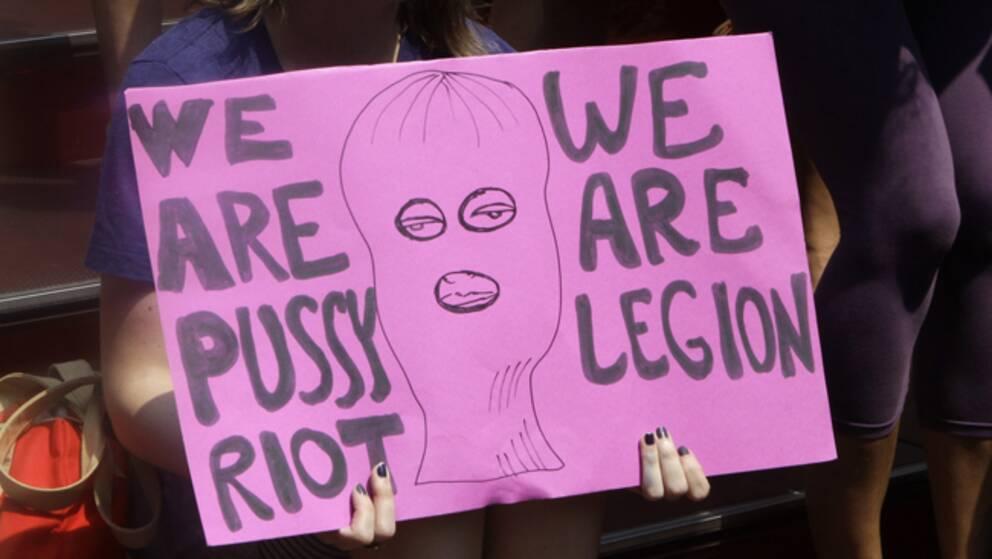 """""""Pussy Riot"""" ska varumärkesskyddas enligt gruppens advokat."""