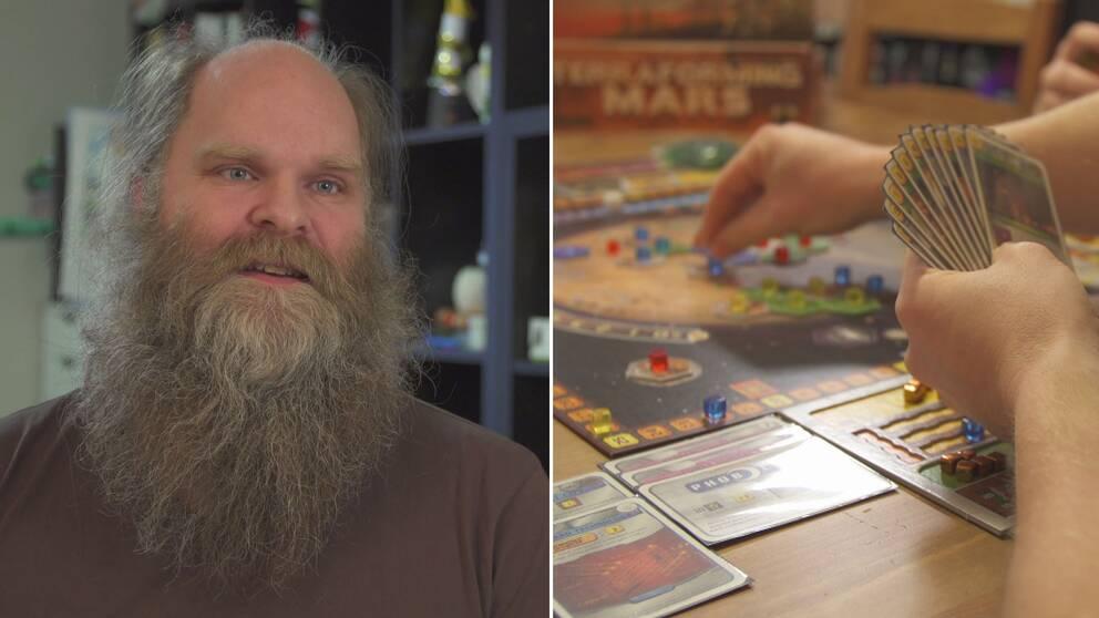 Jacob Fryxelius brädspelskoncept Terraforming Mars har gjort internationell succé, och är just nu ett av världens ansedda brädspel.