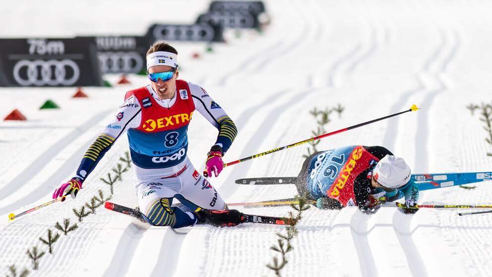 Calle Halfvarsson missar dagens tävling