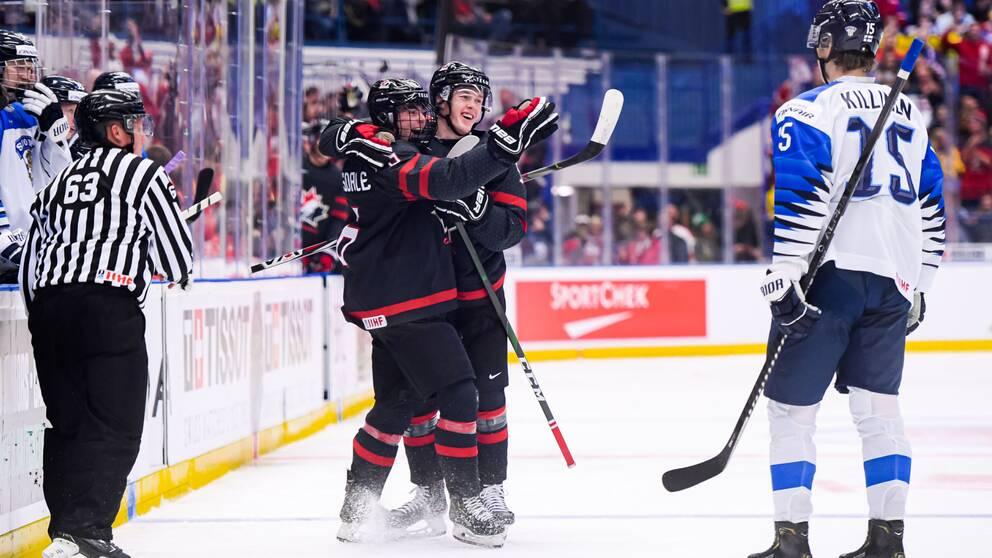 Kanada är klart för JVM-final efter seger mot Finland.