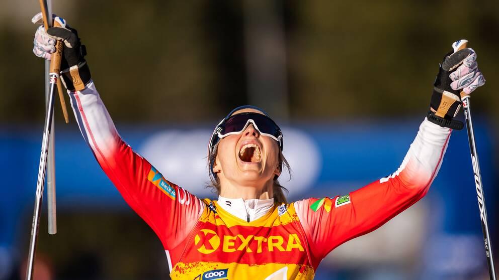 Therese Johaug vann Tour de ski.