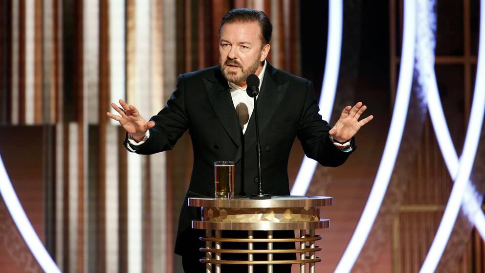 Golden Globe-värden Ricky Gervais