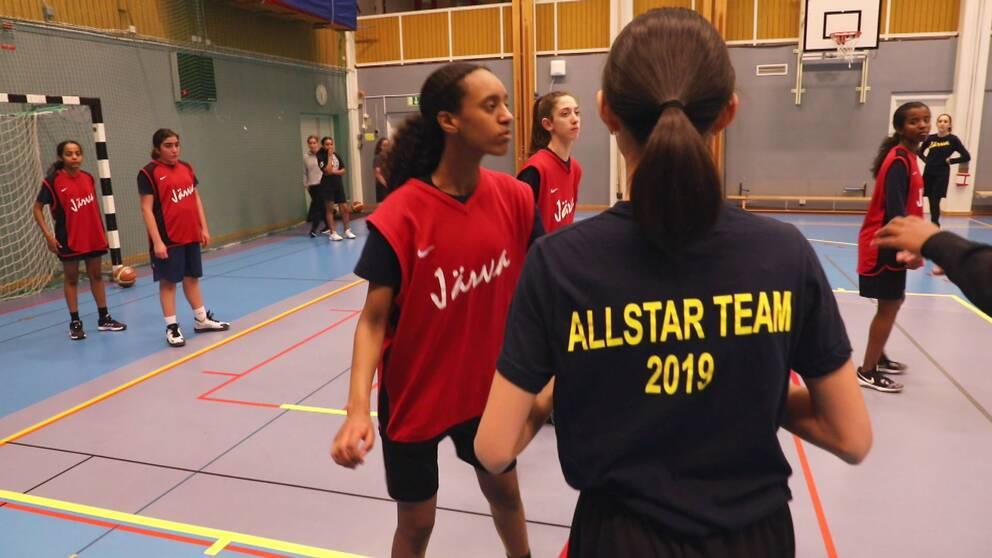 Basketspelare i BK Järva