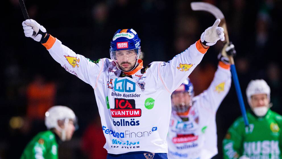 Christoffer Fagerström avgjorde mot Villa Lidköping.