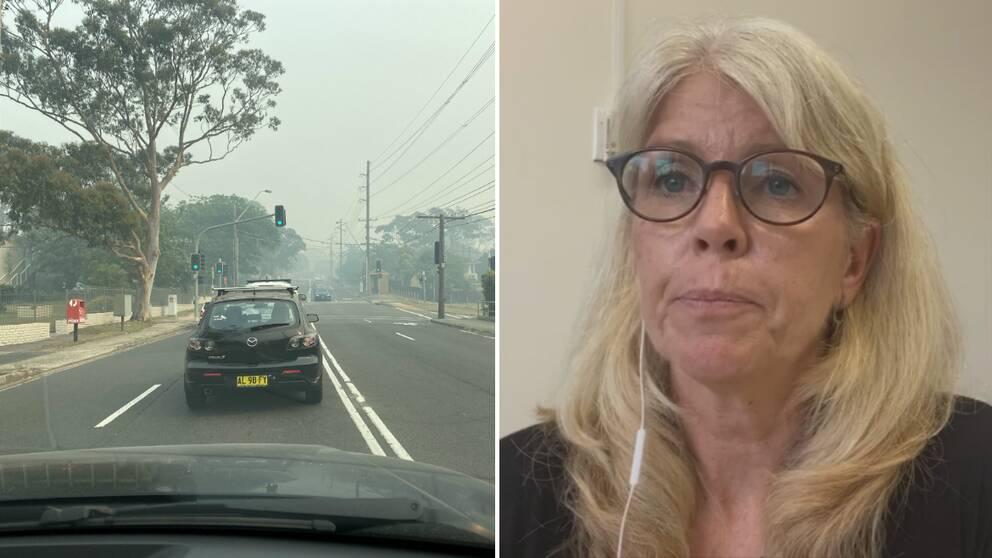 Göteborgskan Anne-Kristin Ottosson i Sydney där det är varmt och rökigt.