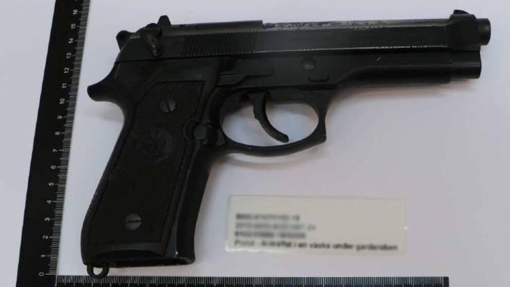 Bild på en pistol