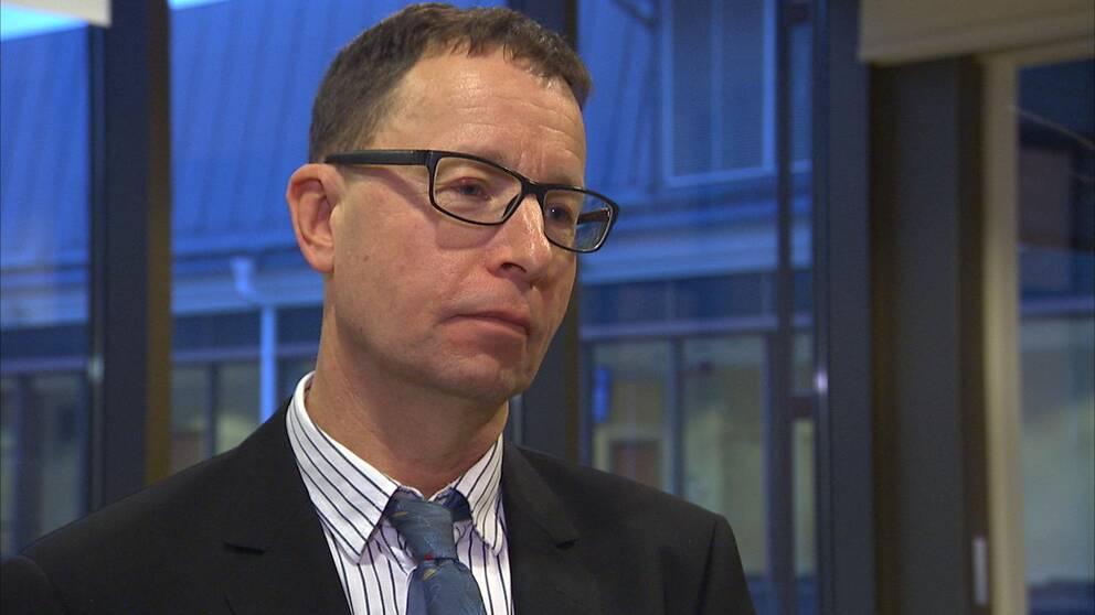 Lars Holmgård lagman och chef för Värmlands tingsrätt