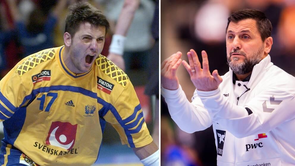 Ljubomir Vranjes i hemma-EM 2002 – och nu som tränare.