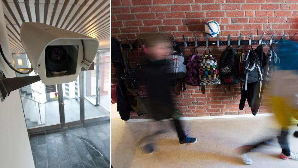 kamera och korridor