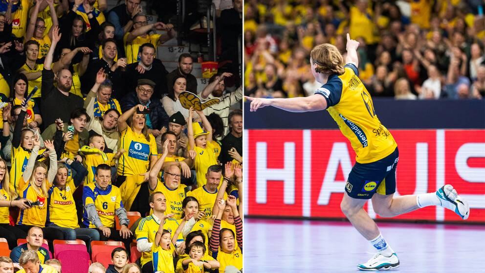 Sverige fick en smakstart på EM.