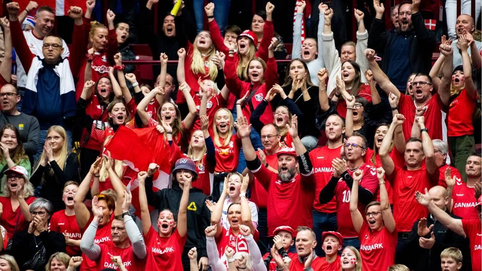 Det har varit ett stort tryck på biljetter från danska fansen.