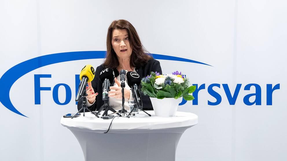 Utrikesminister Ann Linde (S)