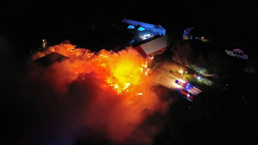 brand naturbruksgymnasiet vreta linköping