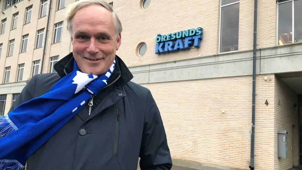 Anders Östlund, vd för Öresundskraft