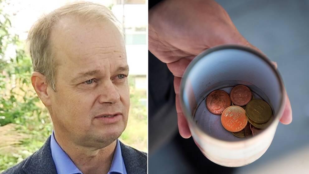 Hans Forsberg (M), kommunstyrelsens ordförande i Kungsbacka, vill återigen försöka införa tiggeriförbud i kommunen.